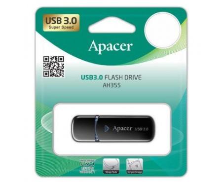 Флешка Apacer 32GB AH355 Black USB 3.0 (AP32GAH355B-1)