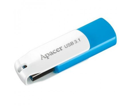 Флешка Apacer 32GB AH357 Blue USB 3.1 (AP32GAH357U-1)
