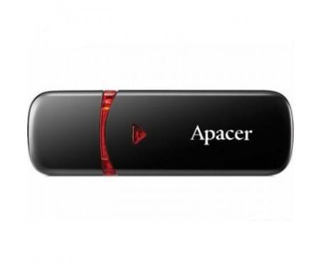Флешка Apacer 64GB AH333 black USB 2.0 (AP64GAH333B-1)