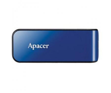 Флешка Apacer 64GB AH334 blue USB 2.0 (AP64GAH334U-1)