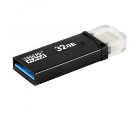 Флешка GOODRAM 32GB OTN3 (Twin) Black OTG USB 3.0 (OTN3-0320K0R11)