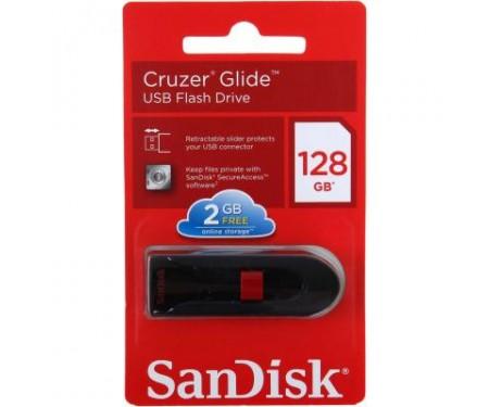 Флешка SANDISK 128GB Cruzer Glide Black USB 3.0 (SDCZ600-128G-G35)