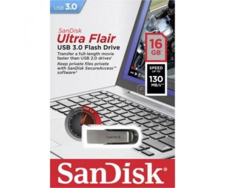 Флешка SANDISK 16GB Ultra Flair USB 3.0 (SDCZ73-016G-G46)