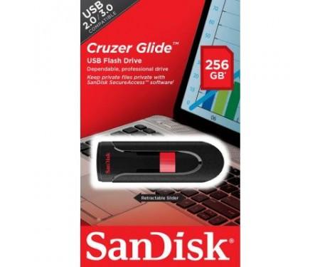 Флешка SANDISK 256GB Cruzer Glide USB 3.0 (SDCZ60-256G-B35)