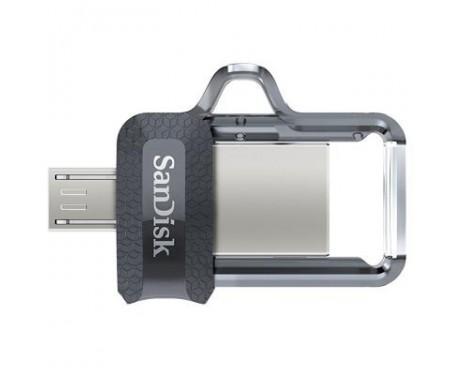 Флешка SANDISK 64GB Ultra Dual Black USB 3.0 OTG (SDDD3-064G-G46)