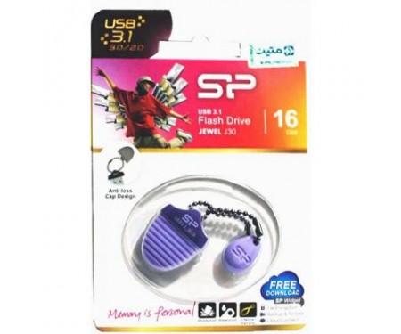 Флешка Silicon Power 16GB Jewel J30 Purple USB 3.0 (SP016GBUF3J30V1U)
