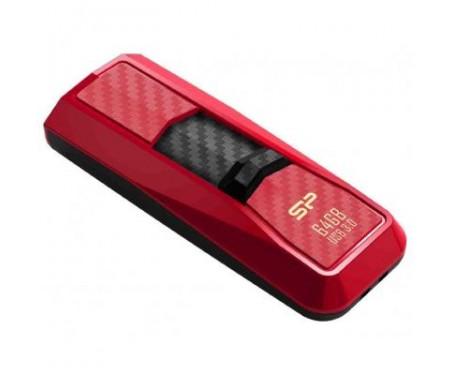 Флешка Silicon Power 64Gb Blaze B50 Red USB 3.0 (SP064GBUF3B50V1R)