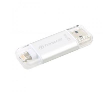 Флешка Transcend 128GB JetDrive Go 300 Silver USB 3.1 (TS128GJDG300S)