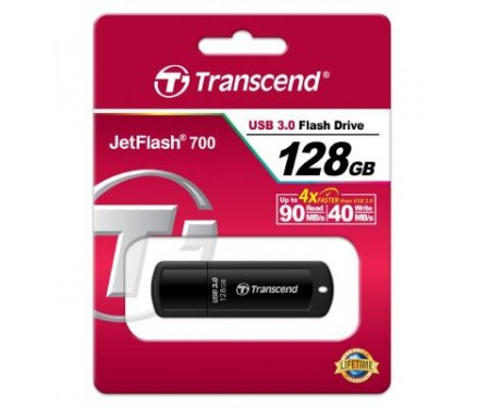Флешка Transcend 128GB JetFlash 700 USB 3.0 (TS128GJF700)