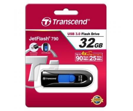 Флешка Transcend 32GB JetFlash 790 USB 3.0 (TS32GJF790K)