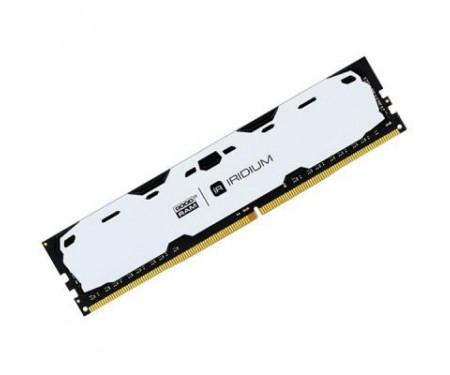 Модуль DDR4 4GB 2400 MHz Iridium White GOODRAM (IR-W2400D464L15S/4G)