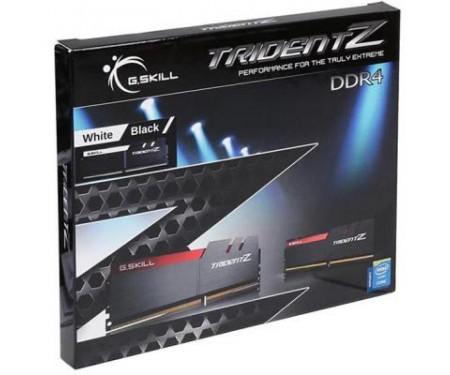Модуль DDR4 16GB (2x8GB) 3200 MHz Trident Z Black H/White G.Skill (F4-3200C16D-16GTZKW)