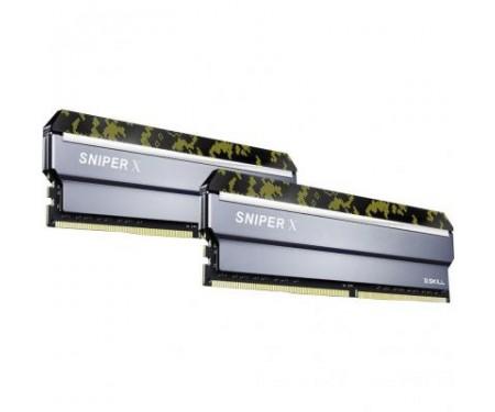 Модуль DDR4 16GB (2x8GB) 3000 MHz Sniper X G.Skill (F4-3000C16D-16GSXKB)