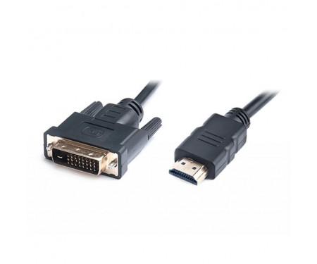 Кабель мультимедийный HDMI to DVI 1.8m REAL-EL (EL123500013)