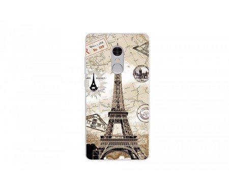 Чехол для Xiaomi Redmi Note 4x Париж