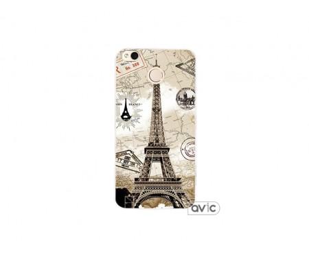Чехол для Xiaomi Redmi 4x Париж