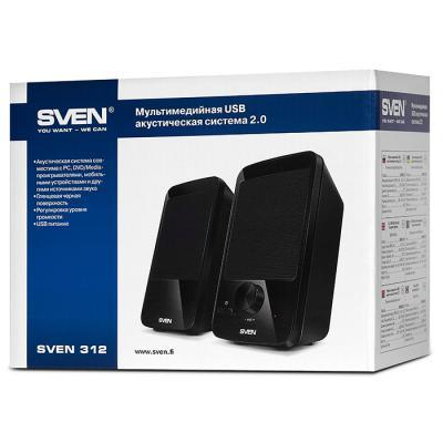 Акустическая система Sven 312 black