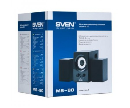 Акустическая система Sven MS-80 black