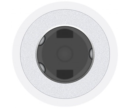 Кабель Apple Lightning to 3.5mm Headphone Jack Adapter White