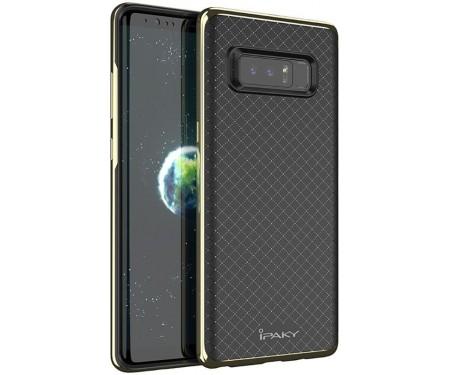 Чехол-накладка Ipaky TPU+PC Samsung Galaxy Note 8 Gold