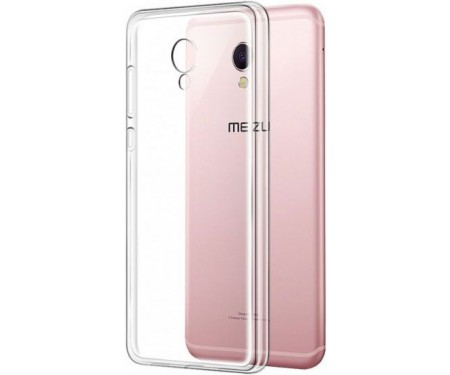 Чехол-накладка TOTO TPU case clear Meizu M5s Transparent