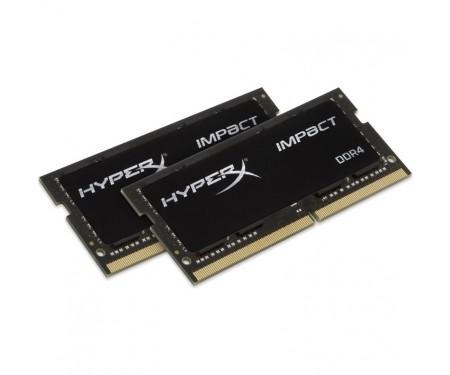 Модуль SO-DIMM 2x16GB/2400 DDR4 Kingston HyperX Impact (HX424S14IBK2/32)
