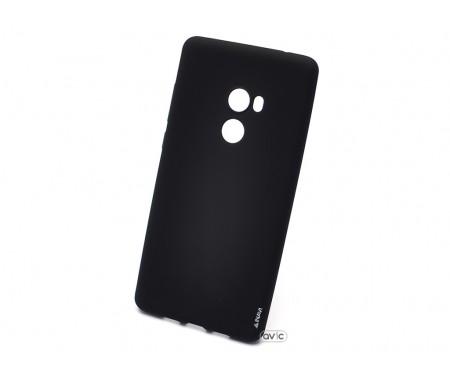 Силиконовый чехол Inavi SIMPLE COLOR Xiaomi Mi Mix 2 (черный)