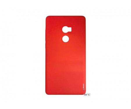 Силиконовый чехол Inavi SIMPLE COLOR Xiaomi Mi Mix 2 (красный)