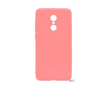 Силиконовый чехол Inavi SIMPLE COLOR Xiaomi Redmi 5 (розовый)
