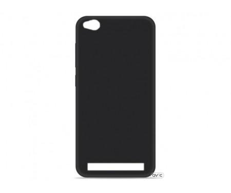 Силиконовый чехол Inavi SIMPLE COLOR Xiaomi Redmi 5A (черный)