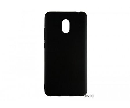 Силиконовый чехол Graphite Meizu M6 (черный)
