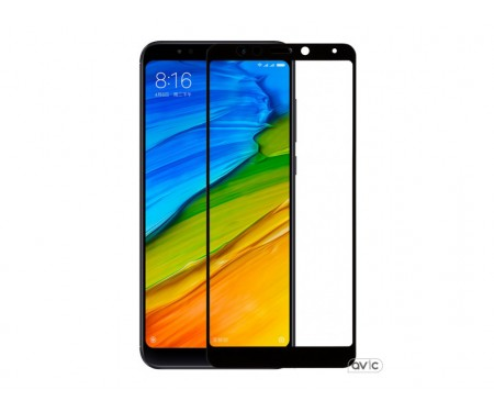 Защитное стекло для Xiaomi Redmi 5 Plus 3D Black