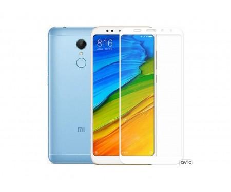 Защитное стекло для Xiaomi Redmi 5 Plus 3D White