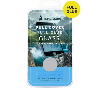 Защитное стекло MakeFuture для Samsung Galaxy A6+ SM-A605 Black Full Cover, 0.33 mm, 2.5D (MGFCFG-SA618PB)
