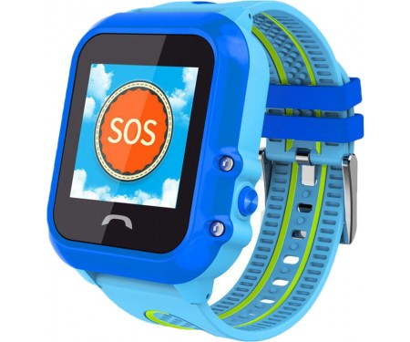 Смарт-часы UWatch DF27 Kid waterproof smart watch Blue