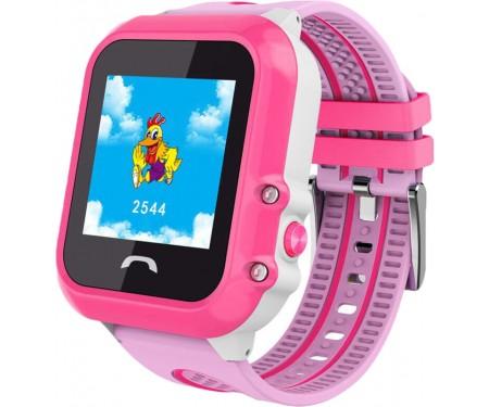 Смарт-часы UWatch DF27 Kid waterproof smart watch Pink