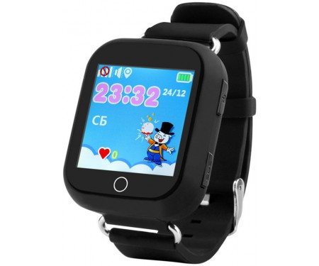 Смарт-часы UWatch Q100s Kid smart watch Black