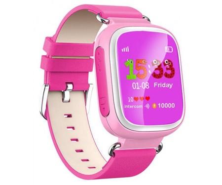 Смарт-часы UWatch Q80 Kid smart watch Pink