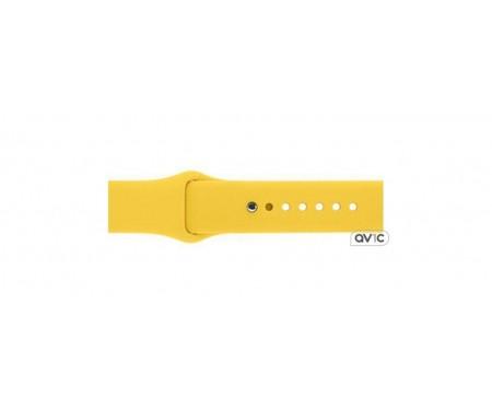Ремешок Apple Watch 42mm Sport Band (Yellow)