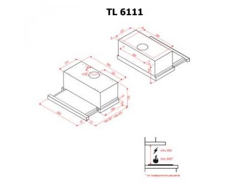 Вытяжка Perfelli TL 6111 I