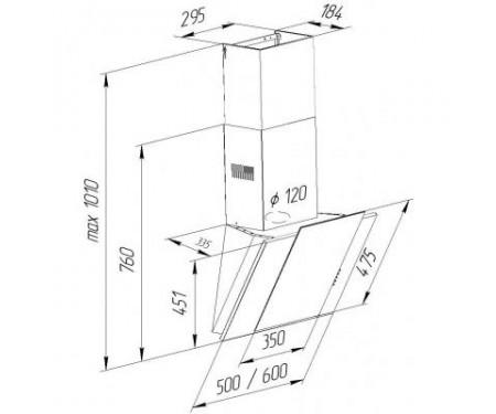 Вытяжка Pyramida NR-MV 50 M IV