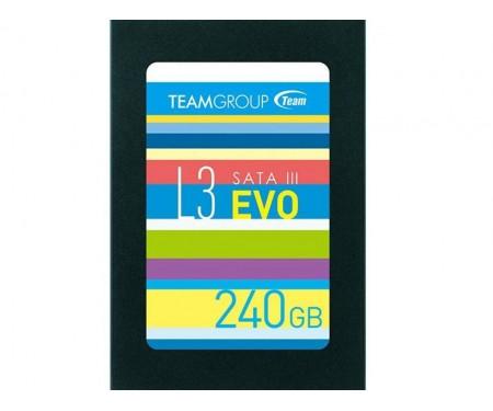 SSD накопитель TEAM L3 Evo 240GB (T253LE240GTC101)