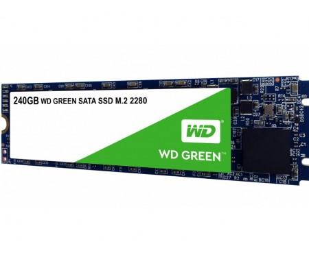 SSD накопитель WD SSD Green 240 GB M.2 (WDS240G2G0B)