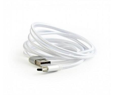Кабель Cablexpert (CCB-mUSB2B-AMCM-6-S) USB 2.0 - USB Type-C, 1.8м, серебристый