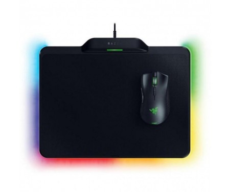 Мышь Razer Mamba HyperFlux (RZ83-02480100-B3M1) Black USB + Игровая поверхность Razer Firefly HyperFlux Bundle