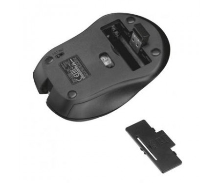 Мышь Trust Mydo Silent wireless mouse black (21869)