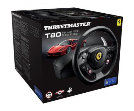 Руль ThrustMaster PC/PS4 T80 FERRARI 488 (4160672)
