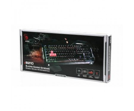Клавиатура A4Tech Bloody B210 Black