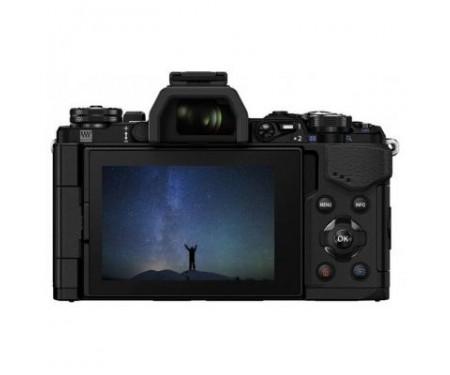 Фотоаппарат Olympus E-M5 mark II 14-150 II Kit + HLD-8 + BLN-1 black/black (V207043BE010)