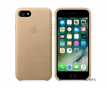 Apple iPhone 7 Leather Case - Tan MMY72